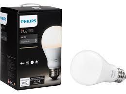 philips hue white a19 single bulb 455295 newegg