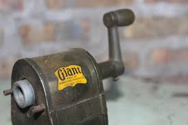Machine Shed Rockford Il Fire by Giant Pencil Sharpener Apsco Made In Chicago Museum