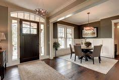 FH I Like The Open Space Take Down Half Wall At My House Out Nooks Add Paneling Beautiful Family Home With Trendy Interiors