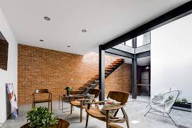 100 Brick Walls In Homes Exposed Steal The Show In This Modern Dustrial