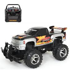 New Bright Chevrolet Silverado1:15 Scale Radio Control Truck – 27 ... New Bright 124 Monster Jam Rc Truck From 3469 Nextag The Pro Reaper Is Chosenbykids And This Mom Money New Bright Ford F150 Fx4 Off Road Truck In Box 3995 Ford Raptor Youtube Buy Chargers Assorted Online Uae Carrefour Armadillo 110 Scale 22 Radio Control Fedex 116 Radiocontrol Llfunction Yellow Frenzy Industrial Co Shop Snake Bite Green Ships To Canada