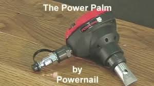 Home Depot Bostitch Floor Nailer by Powerpalm Pneumatic Nailer At Php Youtube