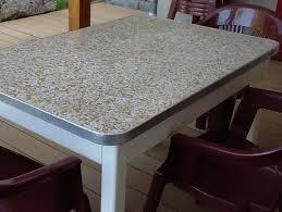 relooker une table de cuisine toutes les idées déco en béton ciré à faire soi même