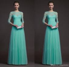 long sleeve turquoise bridesmaid dresses tulle and lace see