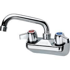 krowne 10 406l commercial series 4 center wall mount faucet 6