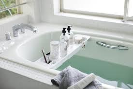 ausziehbares badregal für die badewanne