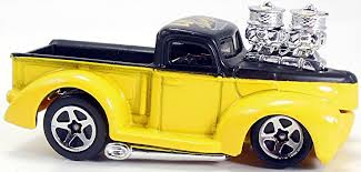 100 1941 Ford Truck Pickup 71mm 2003 Hot Wheels Newsletter