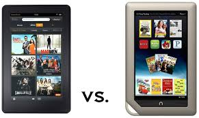 Face f Amazon Kindle Fire vs Barnes & Noble Nook Tablet