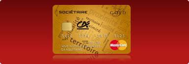 crédit agricole aquitaine gold mastercard societaire tous nos