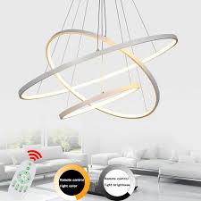 buy remote led ceiling light modern pendant at lifeix