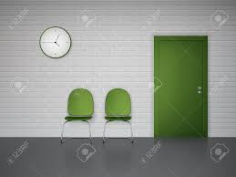 Waiting Room Interior With Wall Clock Green Chairs And Door Vector.. Living Room Ikea 21 Ways To Decorate A Small And Create Space Boss Office Products Black Traditional Style Executive Reception Waiting Chair Kettering Medical Center Area Renovation 50 Home Design Ideas That Will Inspire Productivity Cheap Chairs With Arms Modern Decoration Midcentury Armchairs For Your Next Interior Stunning Two Computers 2xhome Stacking Lucite Transparent Uv Outdoor Ding Molded Patio Kitchen Designer Armless Clear Types Visitor Shop Online At Overstock