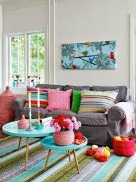 decoração de sala colorida tapete dekoration wohnung