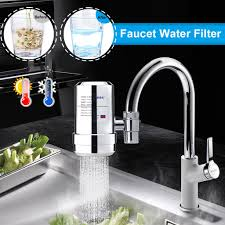 Kitchen Faucet Water Mini Tap Water Purifier Kitchen Faucet Washable Diatom Mud Ceramic Percolator Water Filter Rust Bacteria Removal Buy At A Low Prices On Joom