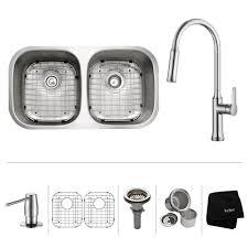 Houzer Sinks Home Depot by Houzer Medallion Gourmet Series Undermount Stainless Steel 32 In