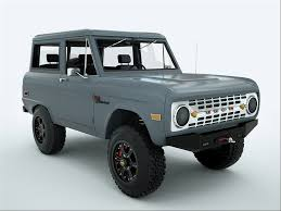 ICON Bronco   Transport Is Arranged: Dream Vehicles   Cars, Ford ...