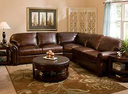 emery traditional leather living room collection design tips