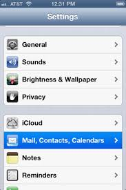 How to update SMTP Outgoing Server settings on iPhone iPad