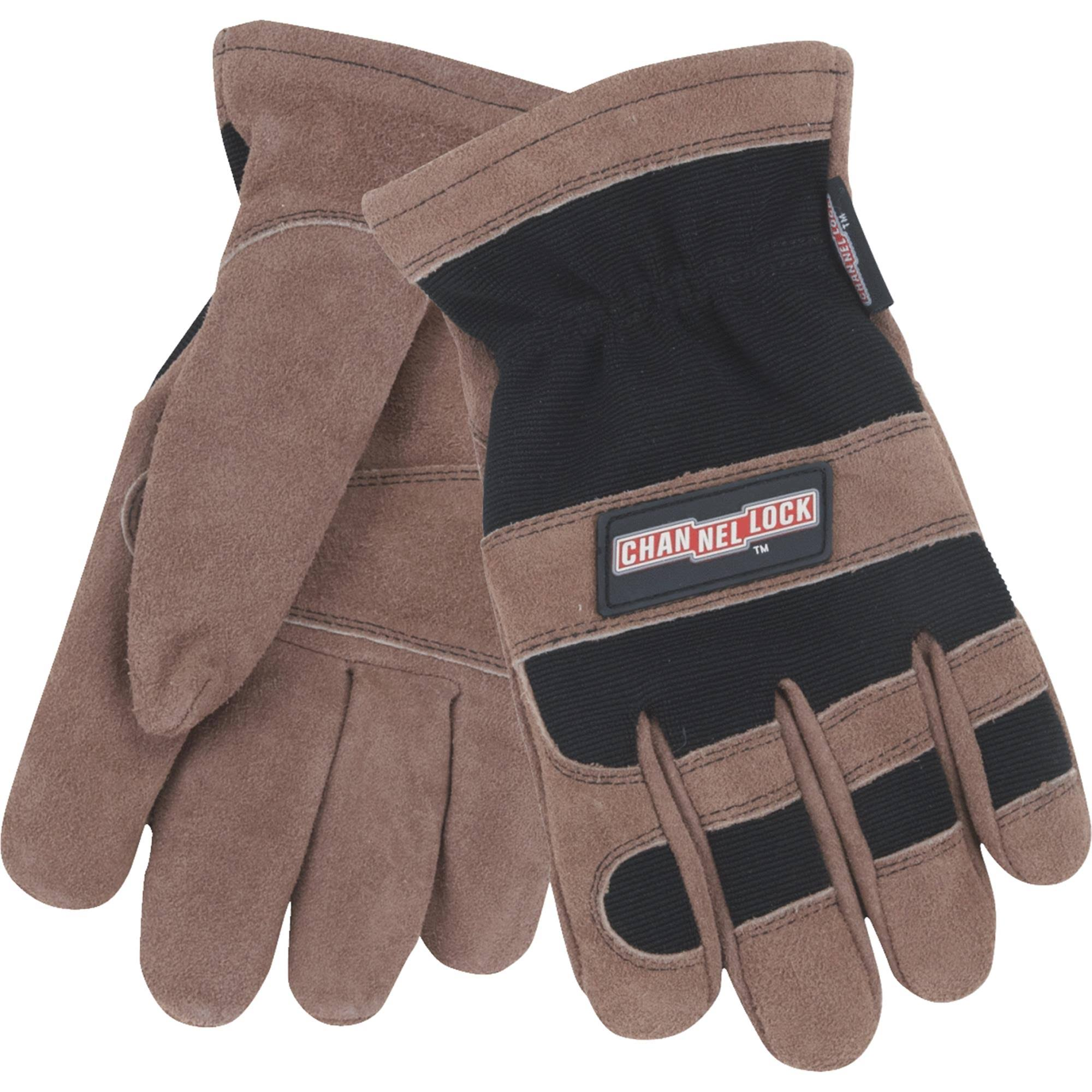 Channellock 701841 Winter Work Glove - Brown/Black
