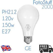 ph212 120v 150w e27 ge low voltage enlarger photoflood l
