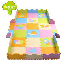 interlocking foam mats puzzle mat for baby and mm thick