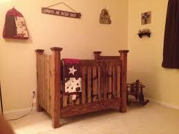 My homemade western baby crib Wood Crafts Pinterest