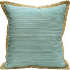 Decorative Couch Pillows Walmart by Better Homes And Gardens Jute Trim Pillow Walmart Com