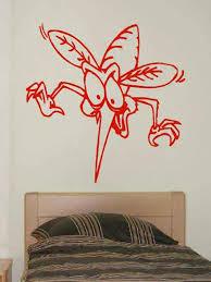 wandtattoo mücke groß 60x60 cm kaufen bei pimp myhome