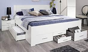 rauch möbel isotta bett doppelbett stauraumbett mit schubladen in weiß liegefläche 180x200 cm stellmaße bxhxt 185x96x208 cm