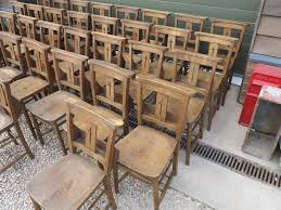 Stackable Church Chairs Uk by Church Chairs With Book Holders Kitchen Dining Chair Seat Ebay