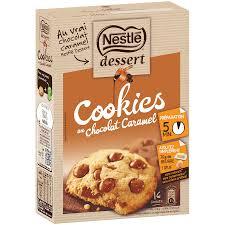 nestle dessert preparation pour cookies au chocolat 351g la