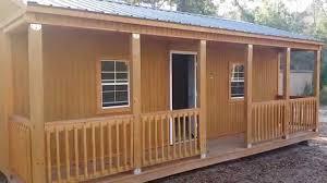 graceland portable buildings of huntsville tx 16x24 side porch