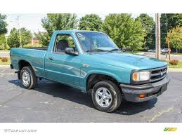 Seafoam Green Metallic 1994 Mazda B-Series Truck B3000 SE Regular ...