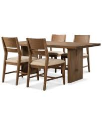 Macys Outdoor Dining Sets by Athena 5 Pc Dining Set Dining Table U0026 4 Side Chairs Furniture