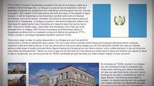 100 Where Is Guatemala City Located TESOL Course In La Antigua Teach Live Abroad
