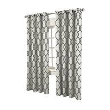 geometric pattern curtains canada curtains drapes sheer blackout more lowe s canada