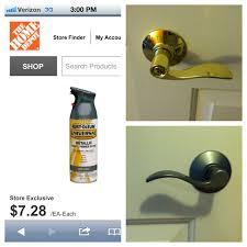 painting door handles best 25 brushed nickel spray paint ideas on