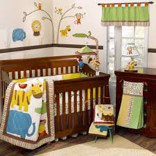 Safari Decorating Ideas For Living Room by Bedroom Appealing Cool Wooden Baby Crib With Safari Themed