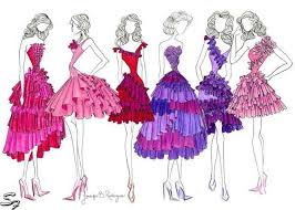 Some Fashion Designers Draw Figures With No Faces Just Blank Heads For Flexibility The Student Should Also Learn How To