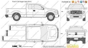 100 Pickup Truck Bed Dimensions Ford 2015 Ford F 150 And Van
