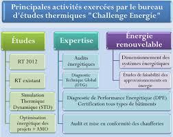 bureau etude thermique rt 2012 bureau d étude thermique ile de challenge energie