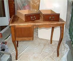 bureau customisé relooker un bureau en chêne