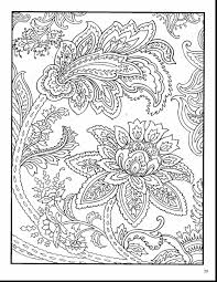 Astonishing Paisley Designs Coloring Book Pages With For Adults And Free Printable