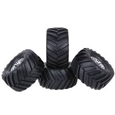 4Pcs/Set 1/10 Truck Tire Tyres For Traxxas Tamiya HPI Kyosho RC ... Jconcepts Shows Off New Golden Year Monster Truck Tires Big Best Rated In Rc Vehicle Wheels Helpful Customer Reviews How To Get Into Hobby Car Basics And Truckin Tested Bigfoot No 1 The Original Ford F100 110 Scale Trucks Hit The Dirt Truck Stop New Release Blog 17mm Hex Dollar Hobbyz Madness 2 Shaving A Set Of Rc4wd Rumbles Squid 4pcs 32 Rubber 18 150mm For For Or Howto Remove From Rims Goolrc High Performance Wheel Rim Tire