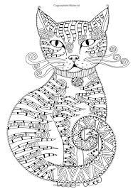 Cat Therapy Colouring Book