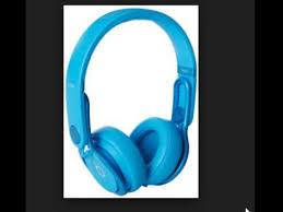 Beats Mixr Ear Headphone Color Light Blue