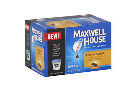 Keurig Pumpkin Spice Coffee Nutrition by Maxwell House The Original Roast Coffee K Cup R Packs 12 Ct Box