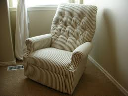 Oversized Wingback Chair Slipcovers by Furniture Decorative Glider Slipcover On Concrete Flooring And