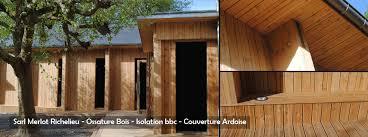 maison bois lamelle colle maison bois merlot taille et pose de charpente ossature bois