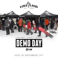 Christy Sports Ski Boots by Flow At Loveland Ski Area Demo Days 11 14 Flow Com
