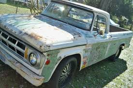 1968 Dodge D100 Classic - Rat Rod Garage Truck - Ages Before The ...